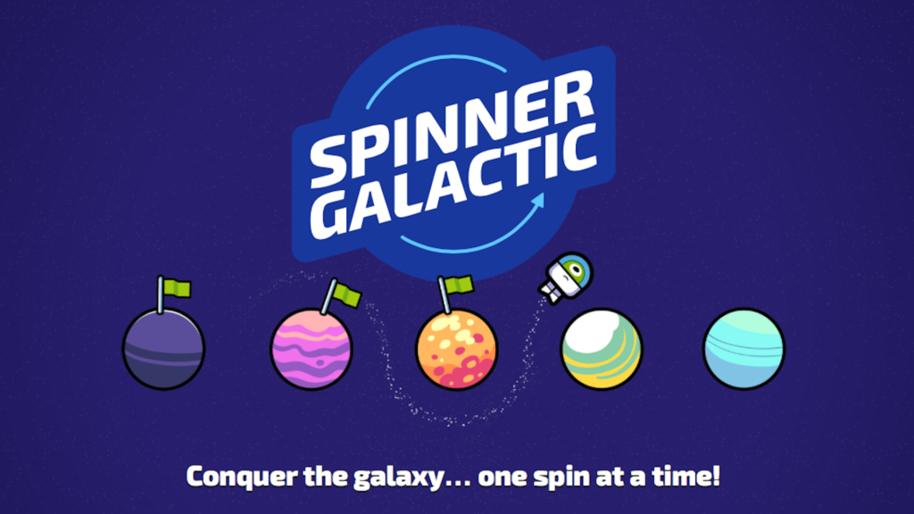 photo image Spinner Galactic Is an Out-of-This-World Endless Arcade Orbiter