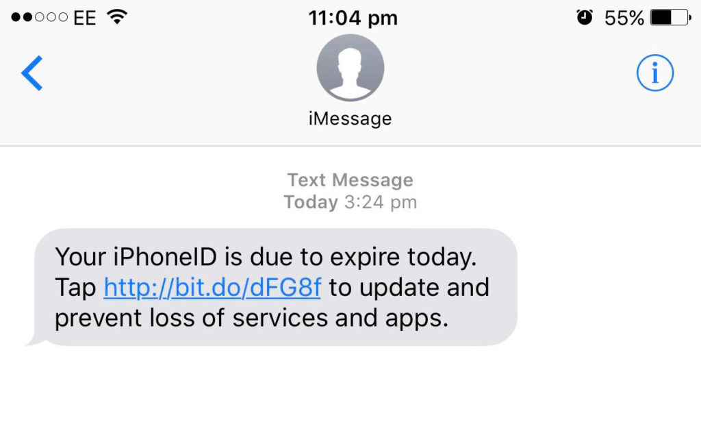 Don't Fall for this New Phishing Attempt Disguised as an 'iMessage'
