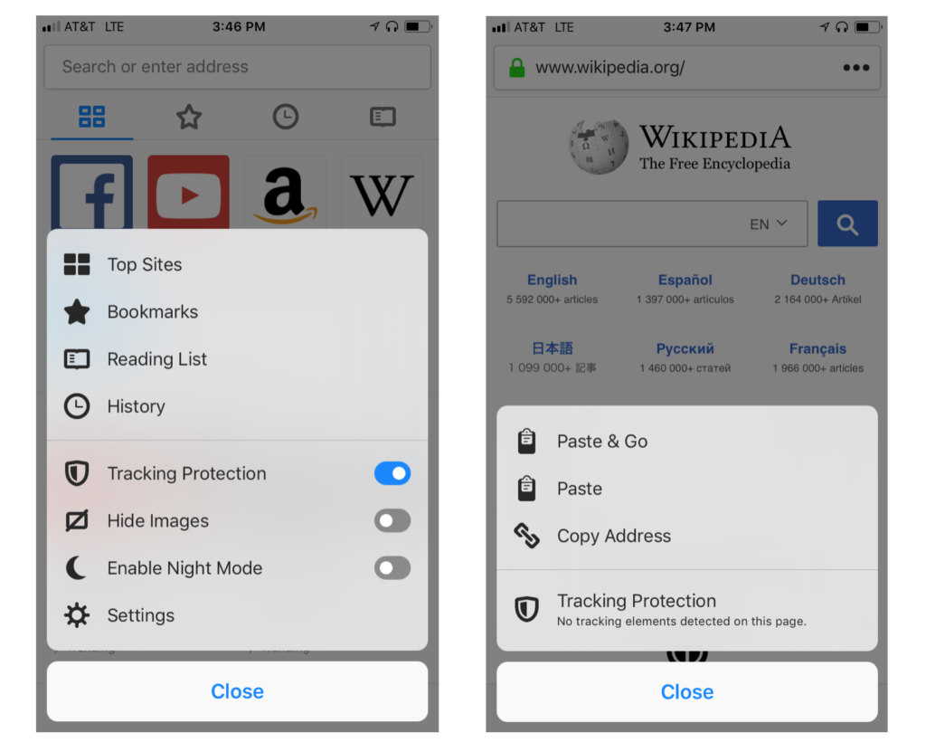 photo image Firefox for iOS Update Brings Default Tracking Protection