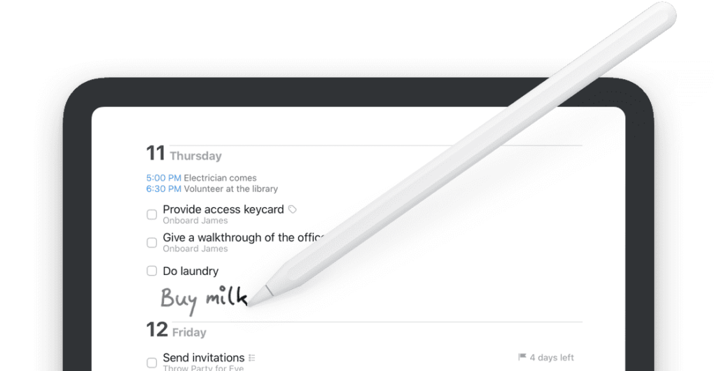 photo of To-Do App Things Adds Home Screen Widgets, Apple Pencil Scribble image