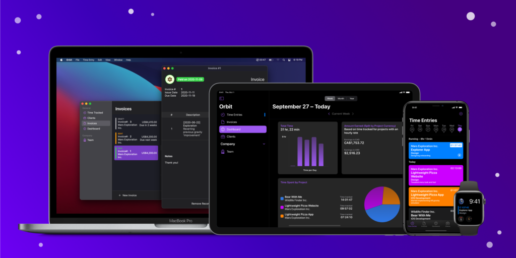 photo of Time-Tracking and Invoicing App Orbit Updated With Live Text, iPadOS 15 Features image