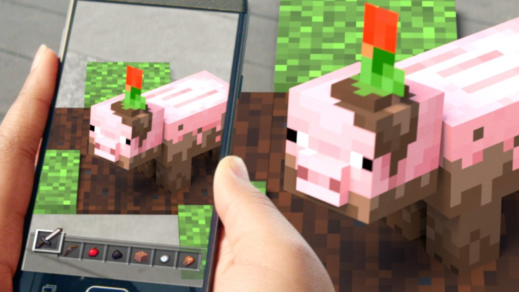 Minecraft Earth Brings Augmented Reality To The Popular Block