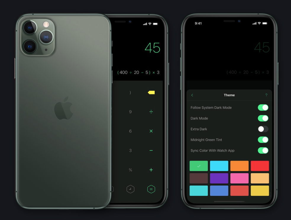 Calculator App Calzy Updated With Support for iOS 13 Dark Mode, Apple  Pencil 2 and More - Internet & Technology News